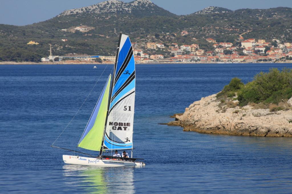 Barca a vela a Dugi Otok