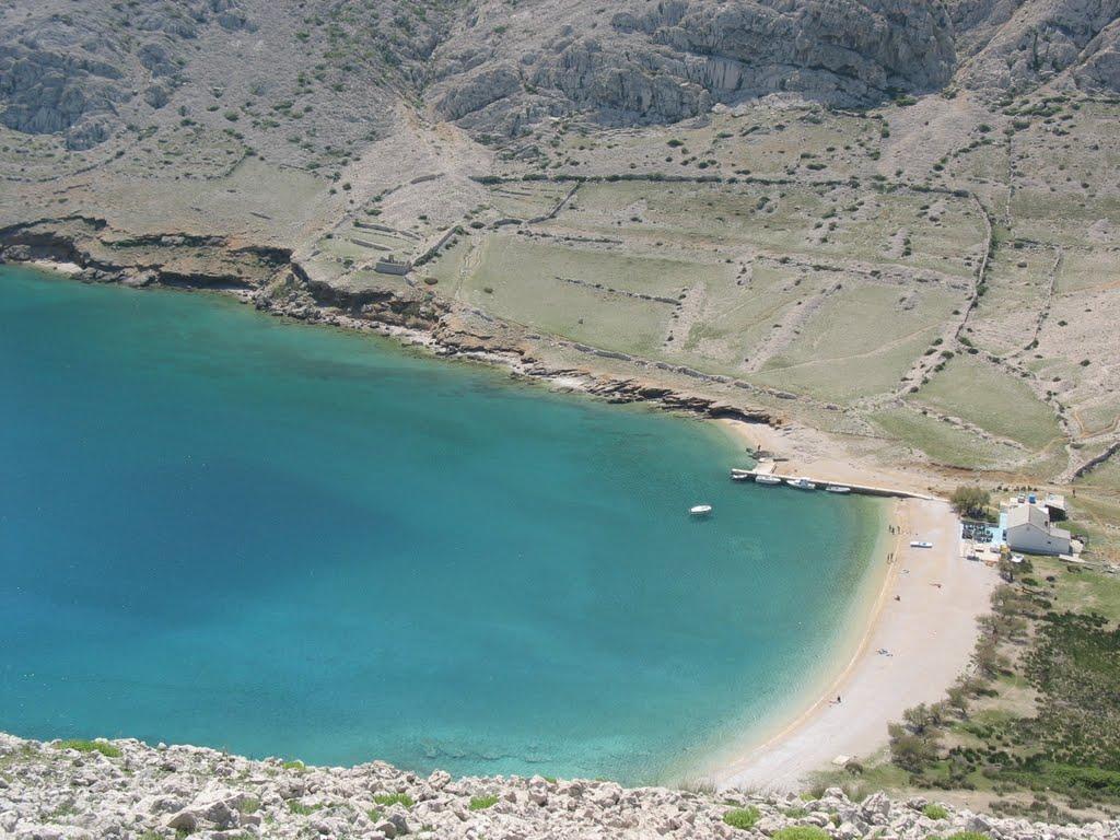 Baska la spiaggia Vela Luka