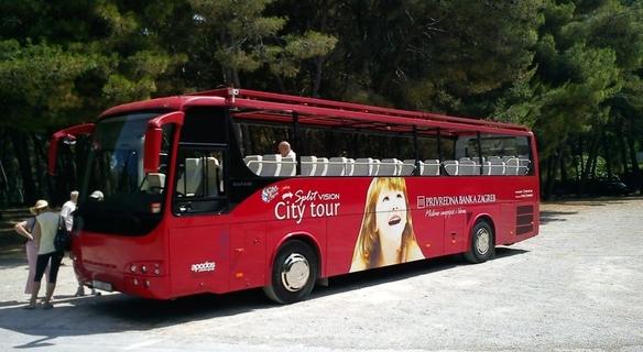 Visita in autobus di Spalato
