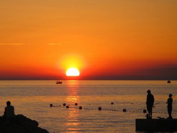 Fazana al tramonto e isole Brioni