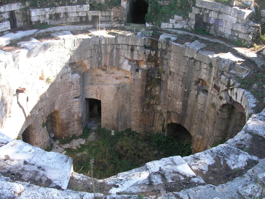 le gallerie di Fort Punta Christo