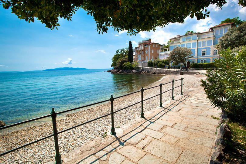 Lungomare sulla Riviera di Opatija