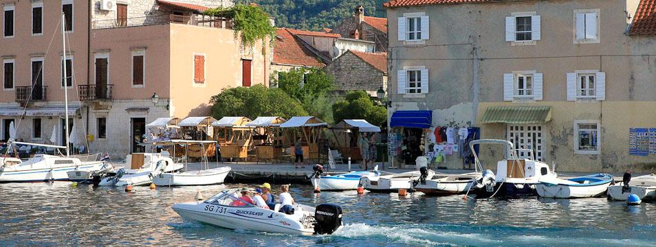 città di Starigrad sull'isola Hvar