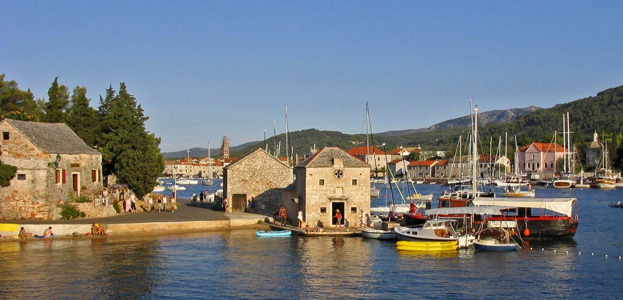isola Hvar città di Starigrad
