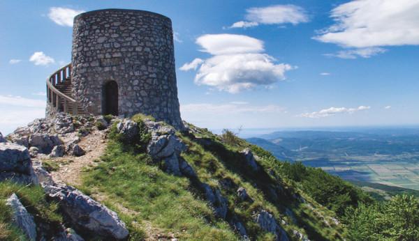 torre Vojak sul monte Ucka