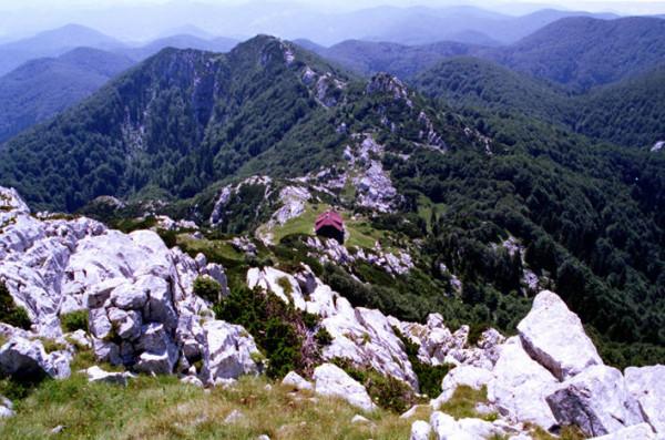 rifugio Schlosser Parco Nazionale Risnjak