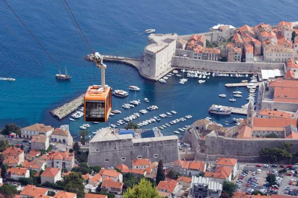 Dubrovnik in teleferica