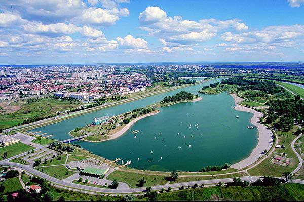 Lago Jarun a Zagabria