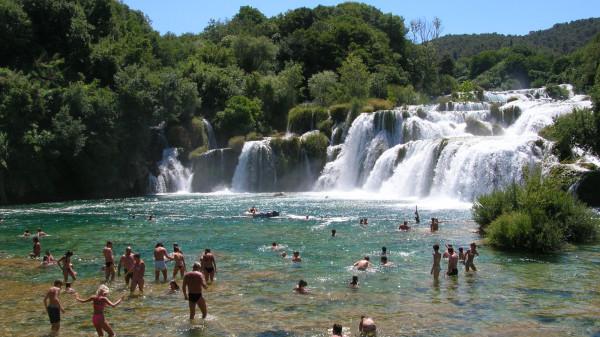 Parco Nazionale cascate Krka