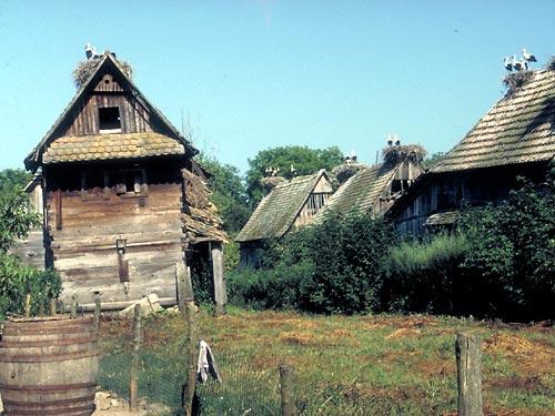 i tetti delle case di Cigoc