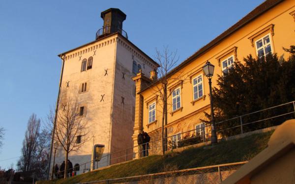 Torre Lotrscak a Zagabria
