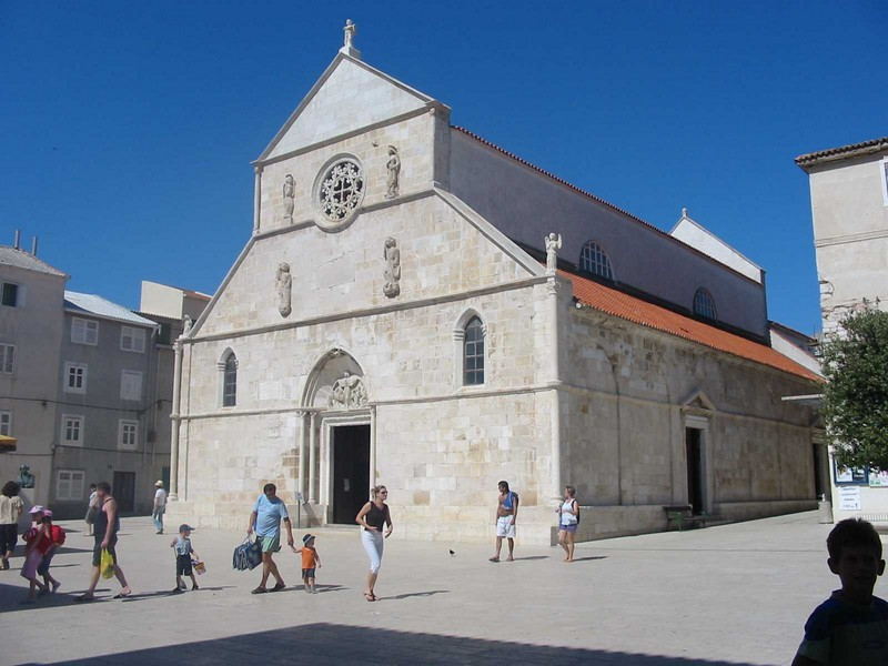 chiesa dell'Assunzione nella città di Pag