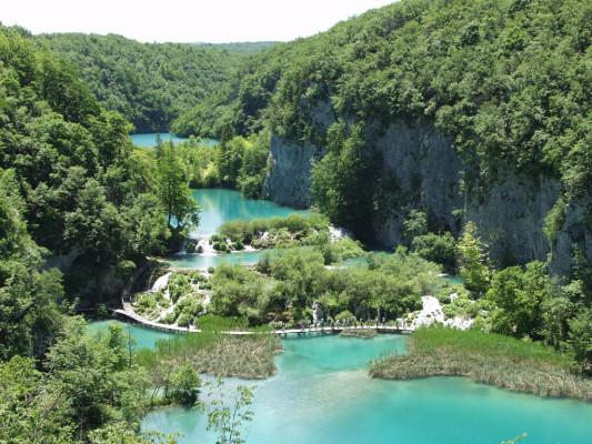 i laghi di Plitvice Parco Nazionale
