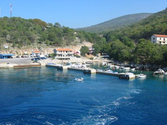porto di Porozina sull'isola Cres