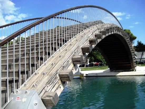 Trogir ponte pedonale