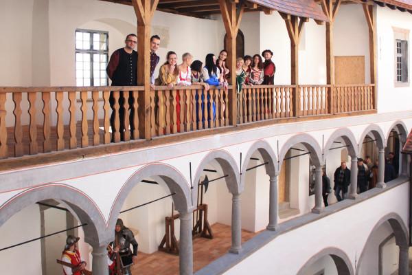 interni del castello Veliki Tabor