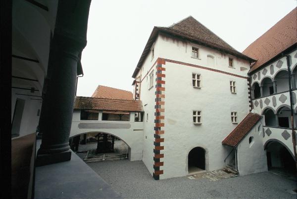 interno del castello Veliki Tabor