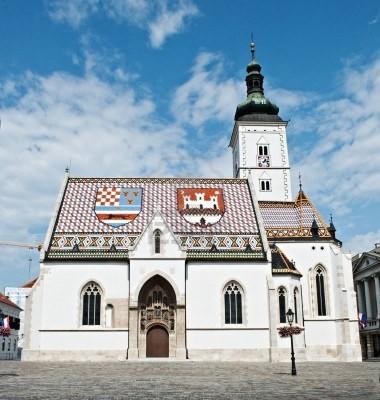 Zagabria chiesa di  San Marco