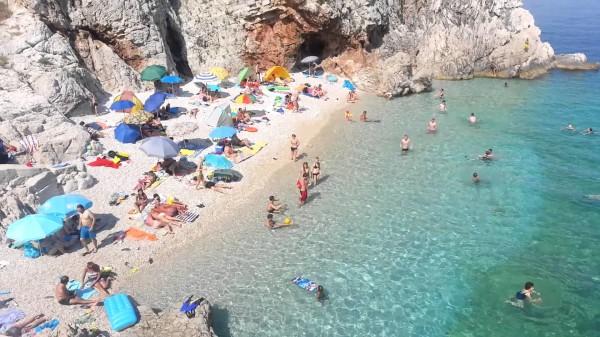 spiaggia di Brsec Sveti Ivan