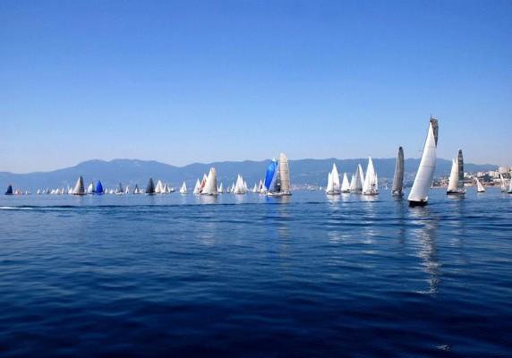 regata velica Fiumanka a Fiume