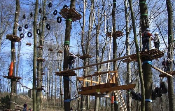 Parco Avventura Glavani divertimento a 10 m da terra