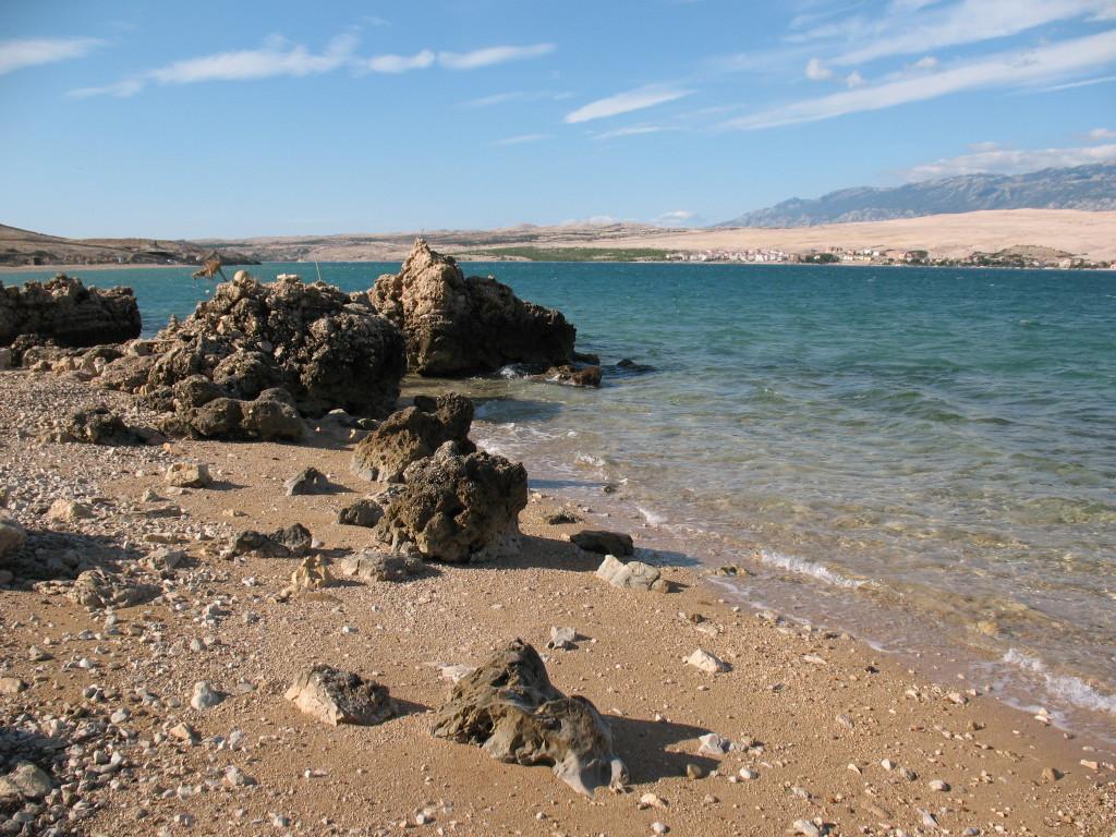 isola Pag spiaggia Sveti Duh