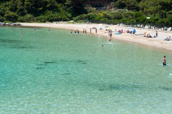 spiaggia di Peljesac Prapratno