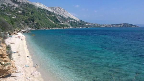 isola Krk spiagge di Punat