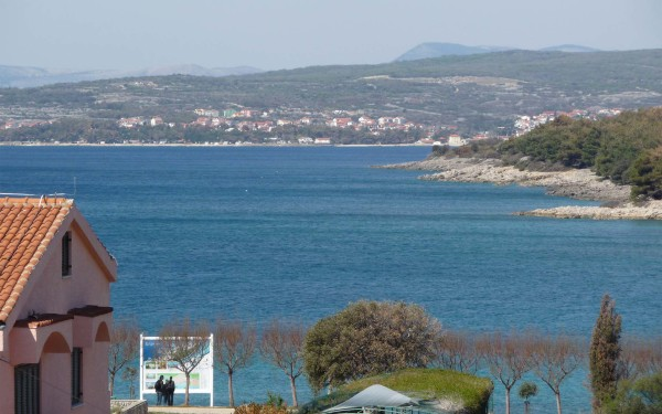 Punat sull'isola Krk porto e lungomare