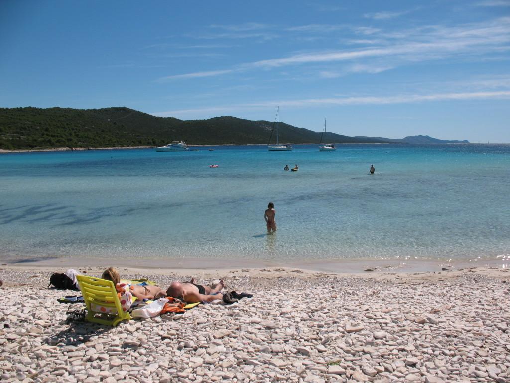 Spiaggia Sakarun