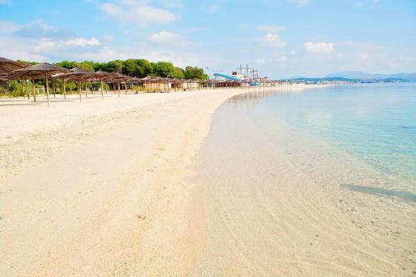 spiaggia del Solaris Beach Resort a Sibenik