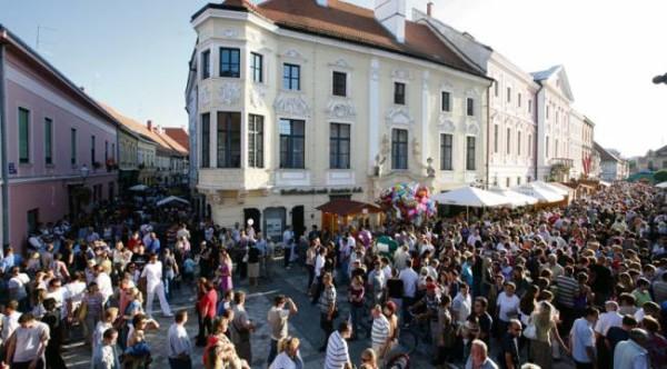 festival Spancirfest Varazdin nelle strade