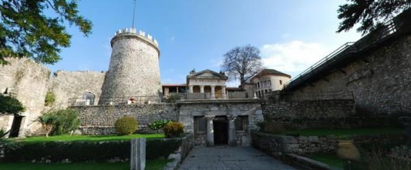Trsat castello e santuario sopra Fiume