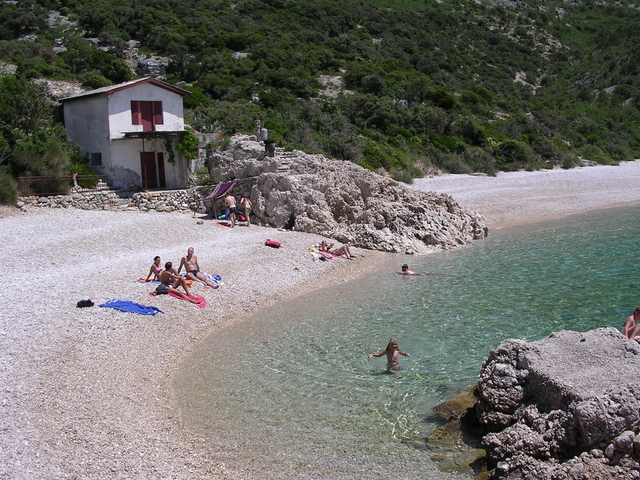 spiaggia Sveti Ivan a Lubenice
