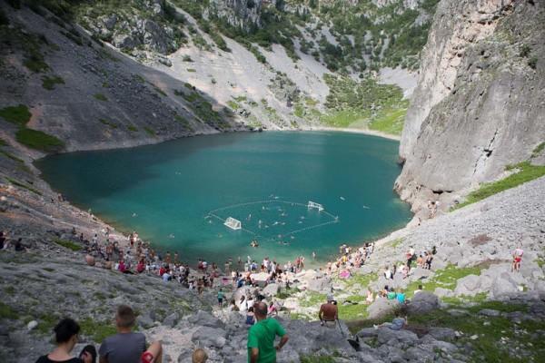 Modro Jezero o Lago Blu a Imotski