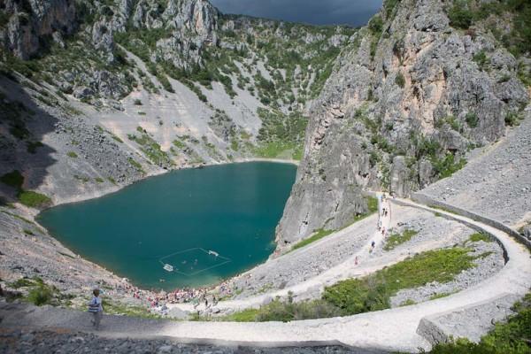 pallanuoto a Imotski Modro Jezero