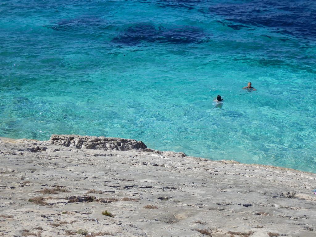 spiaggia Bili Boci sull'isola Proizd