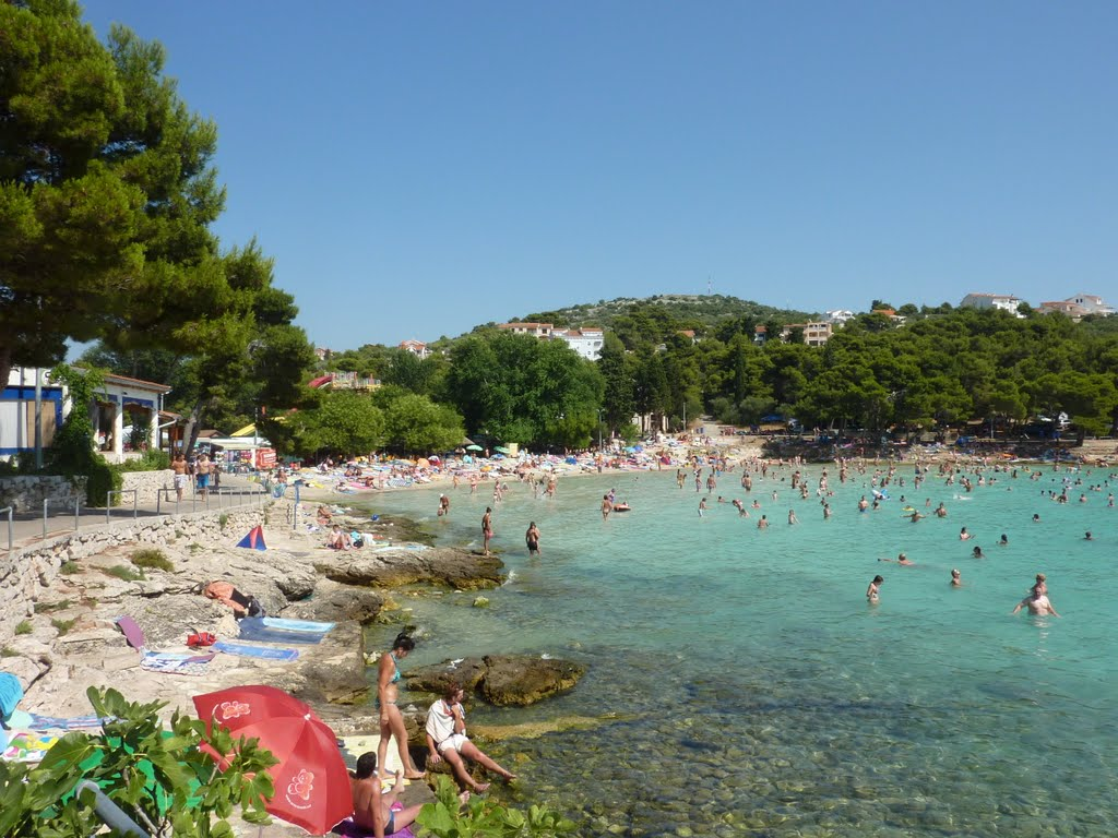 Spiaggia Slanica sull'isola Murter