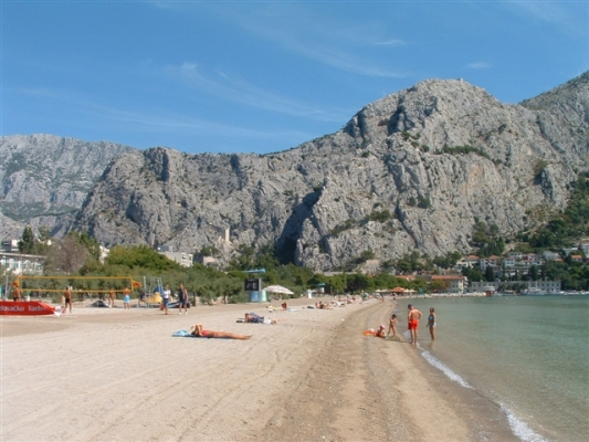 spiagge a Omis