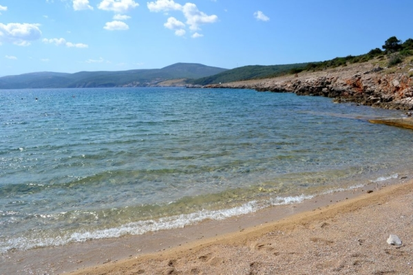 spiaggia Sveti Marak isola Krk