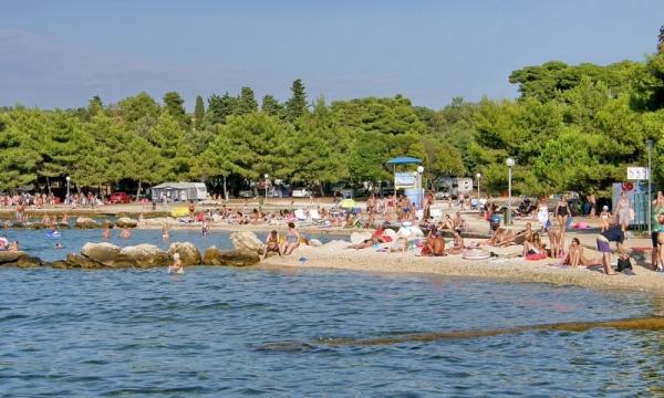 spiaggia Borik a Zara