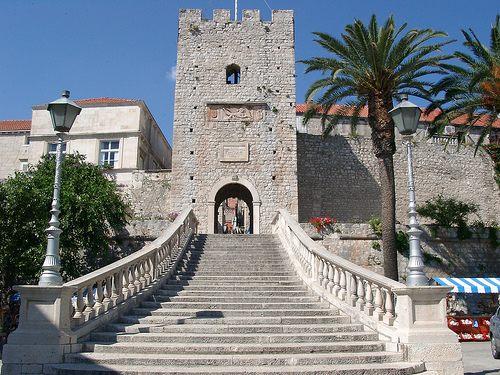Korcula porta d'ingresso alla città vecchia