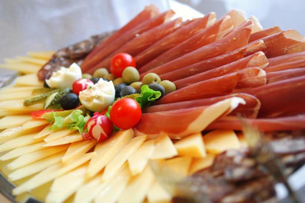 formaggio di pecora di Pag e prosciutto