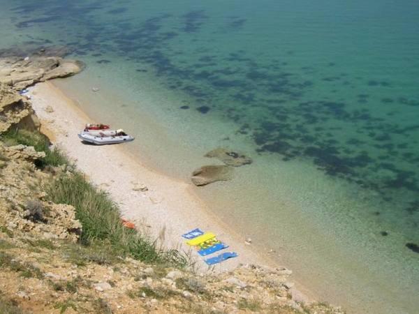 isola Pag spiaggia presso Kolan
