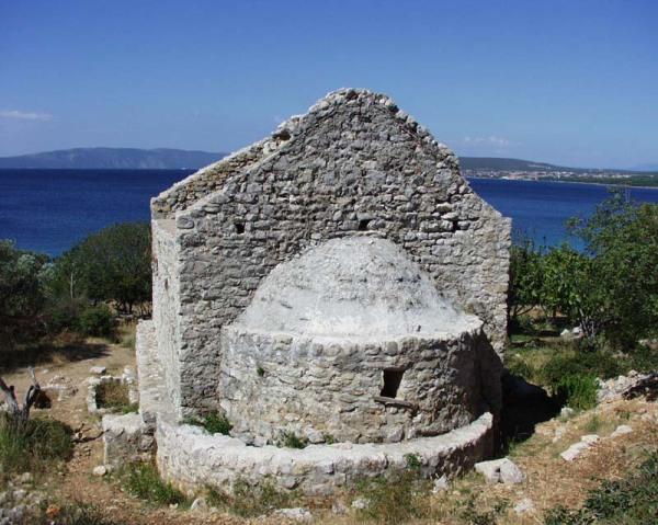 Località mala Krasa chiesa di San Giorgio