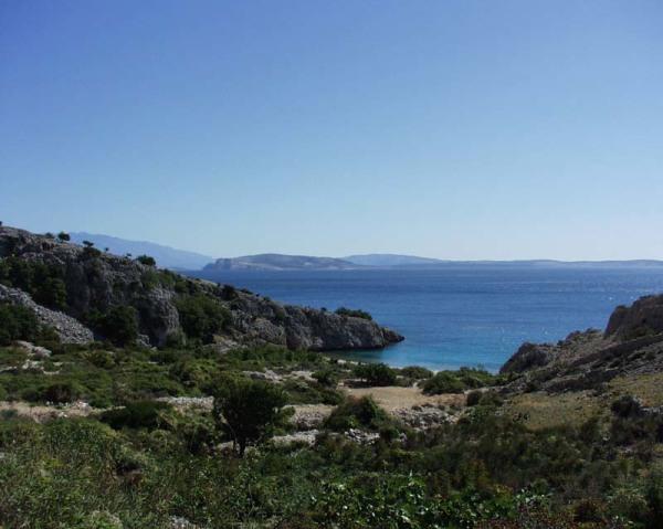 isoletta di Galun davanti a Punat