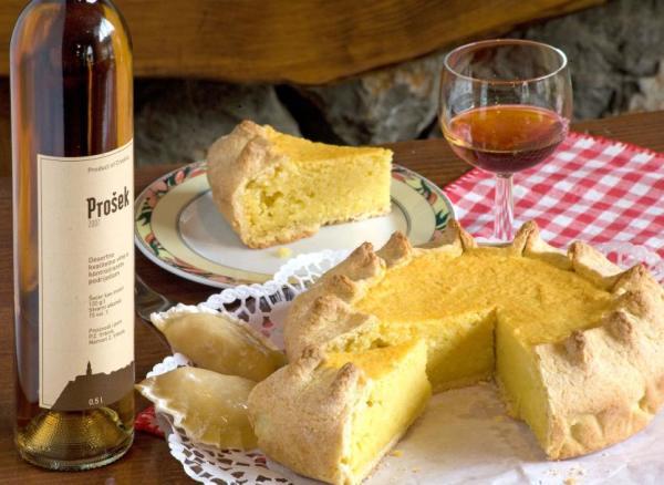vino Prosek prodotto a Korcula