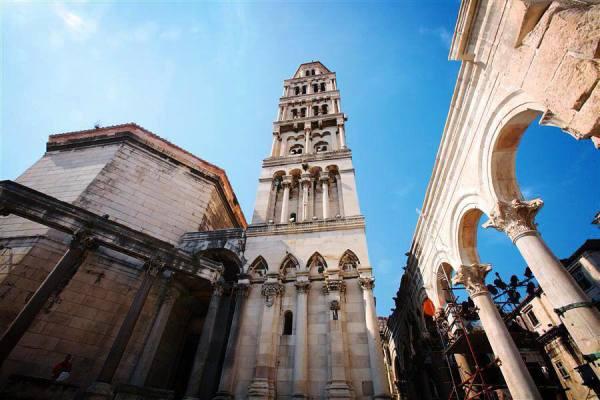 Spalato mausoleo cattedrale di San Doimo