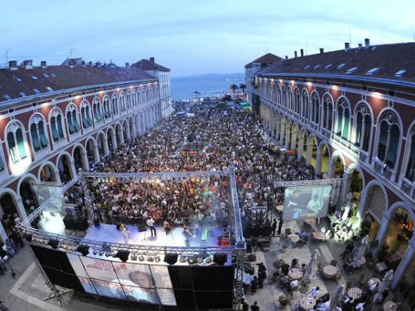 Palazzo di Diocleziano concerti vista mare