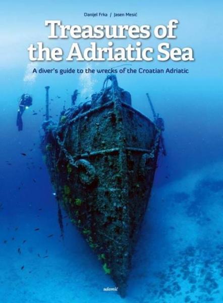 Tesori dell'Adriatico copertina della versione inglese